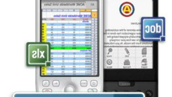 Mobilni pisarniški paket Documents To Go je sila enostaven in priročen za uporabo!