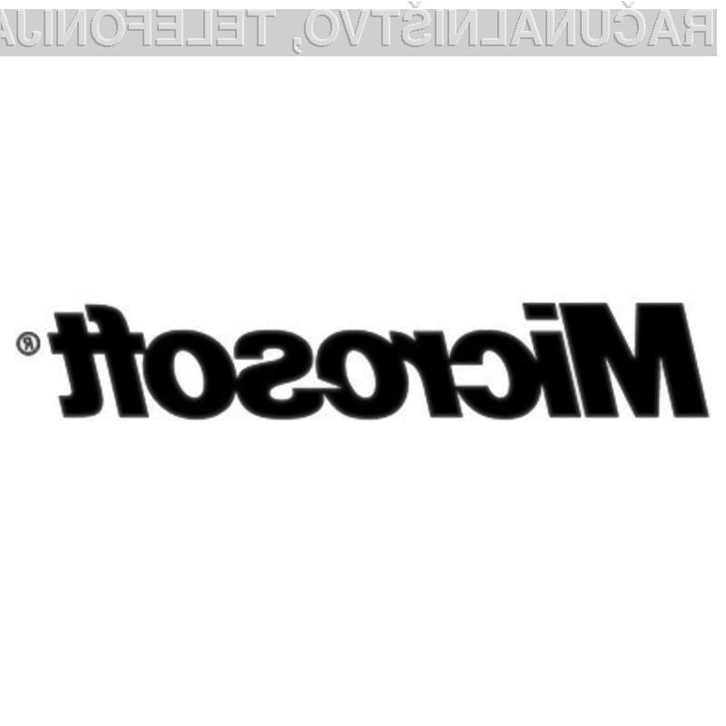 Microsoft si obeta povečanje dobička s prihodom operacijskega sistema Windows 7.