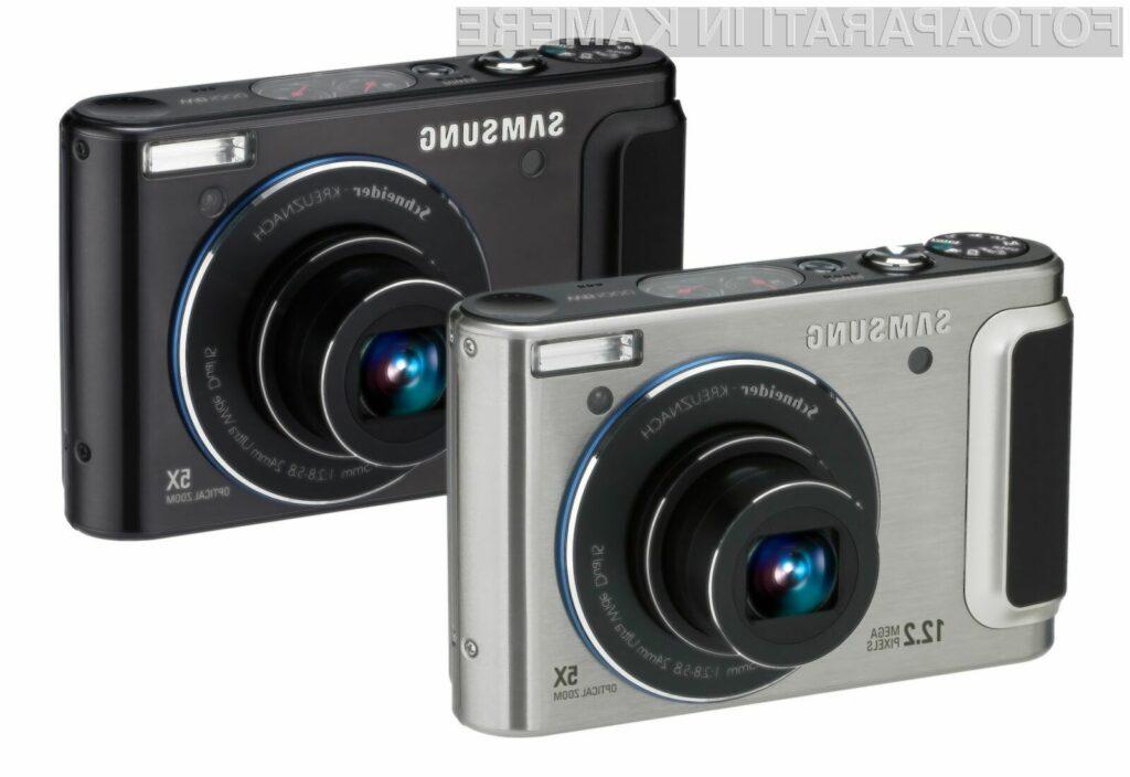 Za odlične fotografije skrbita še optični in digitalni stabilizator slike.