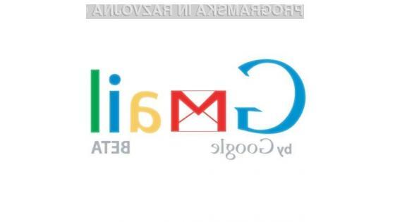 Koliko časa bo e-poštni predal Gmail imel še status poskusne storitve?
