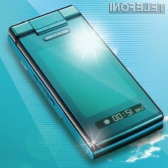 Okolju in uporabnikom prijazni mobilnik podjetja Sharp.