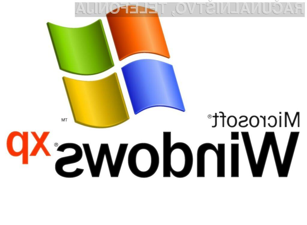 Windows XP se še ne poslavlja?