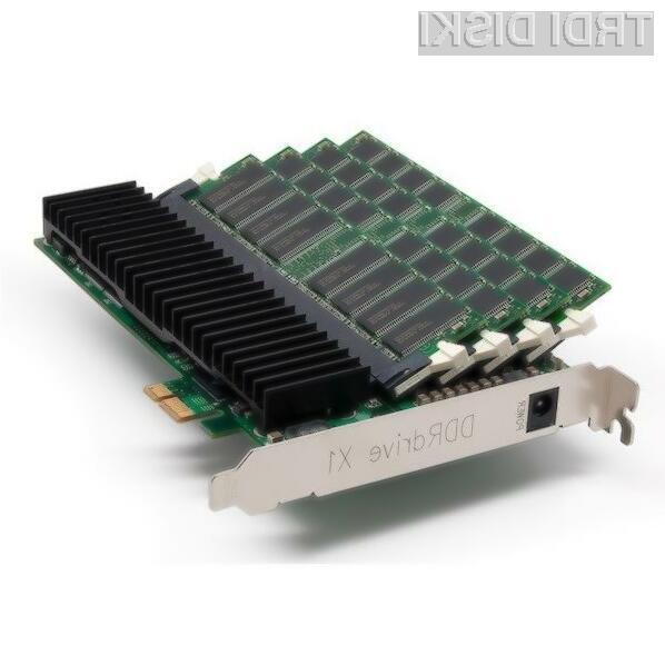 Pogon DDRdrive X1 je pisan na kožo strežniškim sistemom.