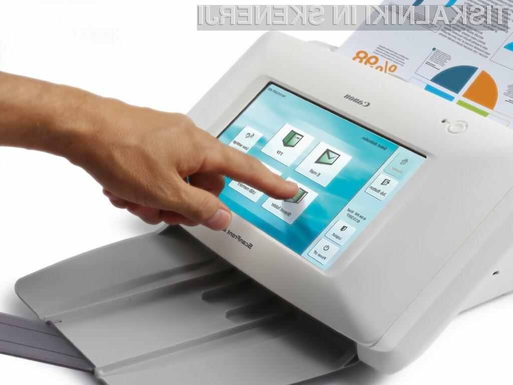 eCopy podjetjem omogoča enostavnejše in varnejše upravljanje digitalnih dokumentov.