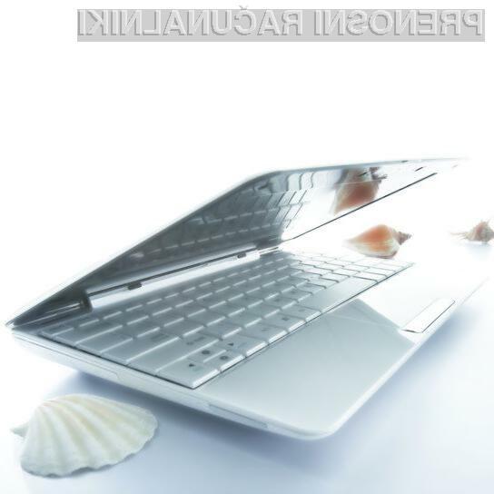 Asus Eee PC Seashell 1008HA - lepotec in pol!