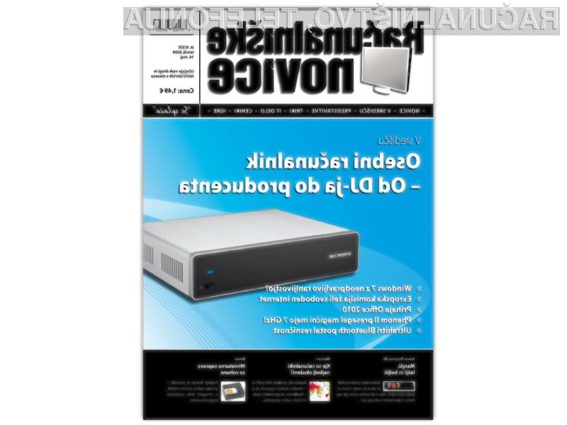 Nova številka Računalniških novic za samo 1,49€ !