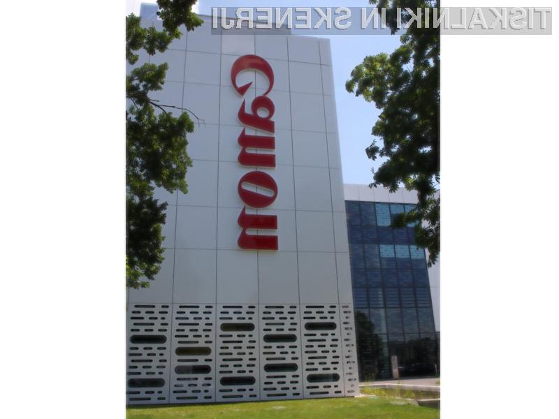 Ohranjanje okolja in virov za Canon niso le besede.