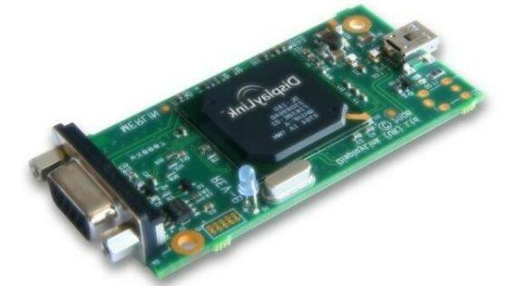Grafična čipovja USB podjetja DisplayLink so postala nepogrešljiva oprema grafičnih oblikovalcev.