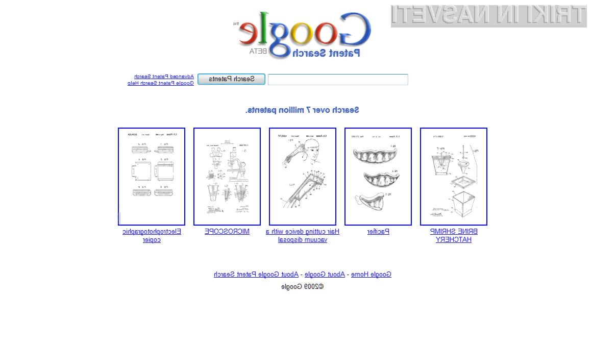 Iskanje patentov je zdaj pregledno in enostavno.