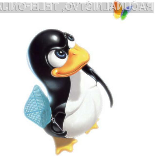 Odprtokodne distribucije Linuxa nevarno jemljejo tržni delež Microsoftovim operacijskim sistemom.