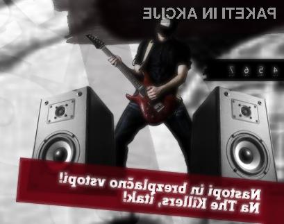 Z »Guitar Hero« do brezplačne vstopnice za The Killers.