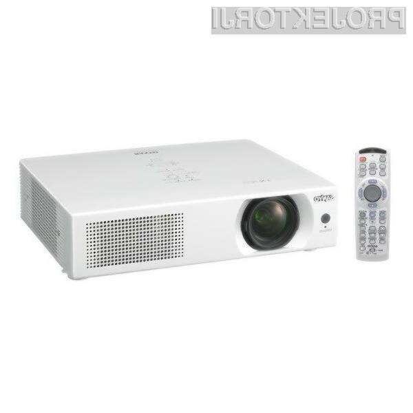 Projektorju Sanyo LP-WXU700 lahko štejemo v slabost le ceno!
