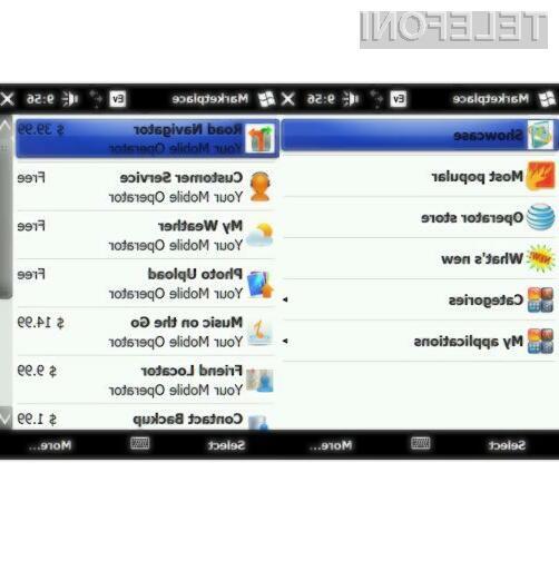 Vse, kar je dovoljeno na portalu Windows Marketplace, je prenos kupljenih aplikacij na nov mobilnik kupca.