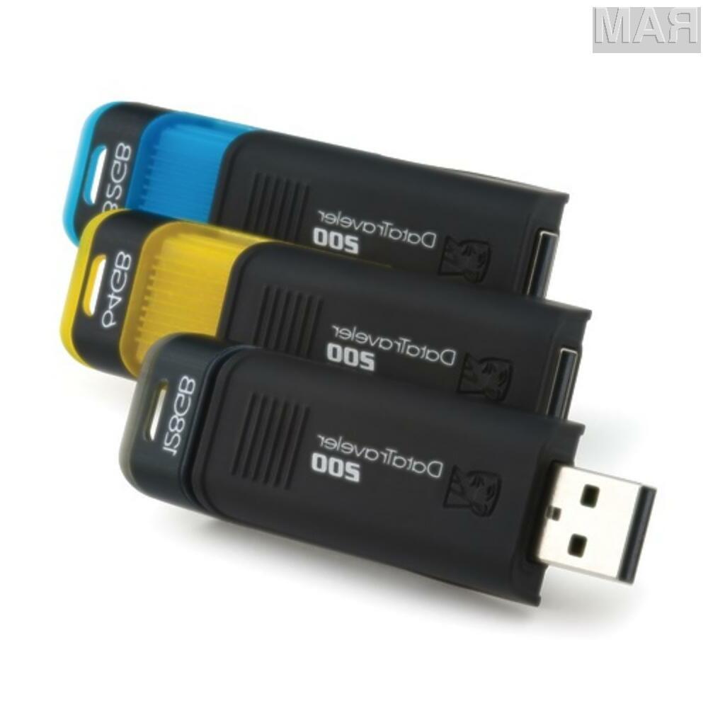 Pomnilniški ključi Kingston DT200 so na voljo s kapacitetami 32, 64 in 128 GB.
