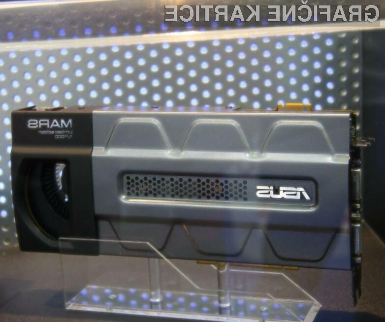 Pregrešno draga grafična kartica Asus Mars 295 Limited Edition je kakopak kos tudi najzahtevnejšim nalogam.