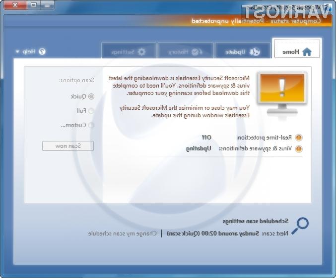 Nove podrobnosti Microsoftovega protivirusnega programa