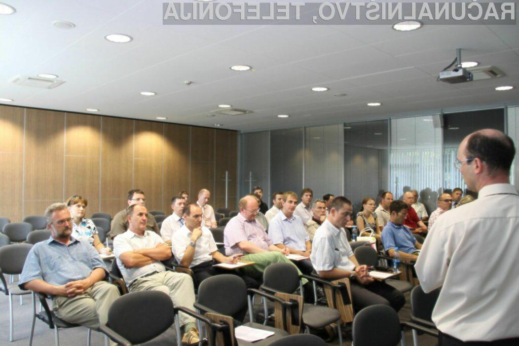 Delavnice SAP PLM se je udeležilo 14 domačih podjetij iz različnih dejavnosti.