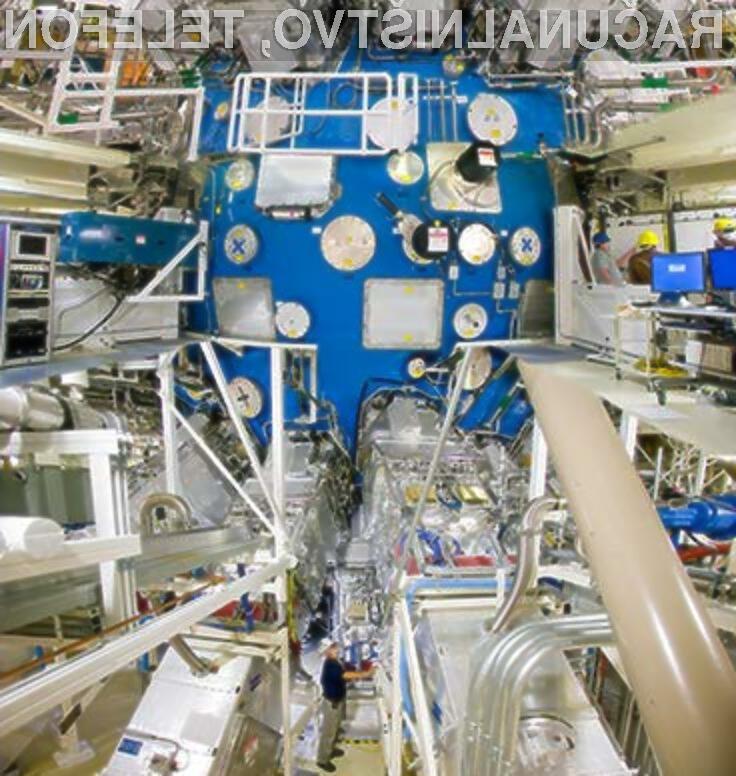 Laser moči petavata bo pospešil raziskavo na področju jedrske energije.