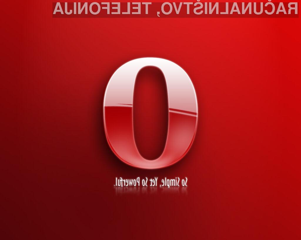 Beta verzija novega brskalnika Opera 10