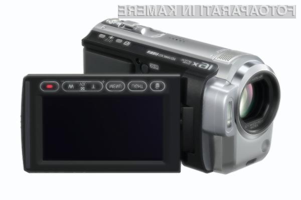 HDC-SD10 in HDC-TM10 z naprednim O.I.S. za stabilno sliko tudi med hojo.