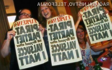 Pirati izvoljeni v evropski parlament!