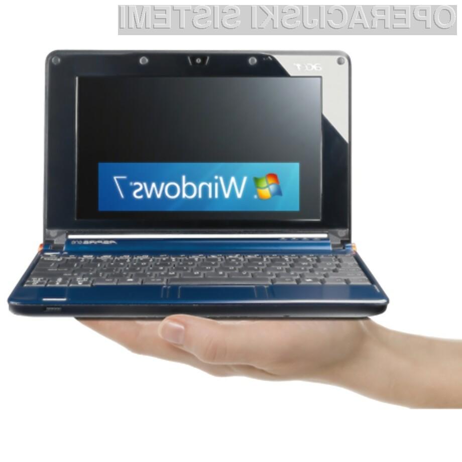 Nameščanje Windowsa 7 iz pomnilniškega ključka USB bo postalo mačji kašelj!