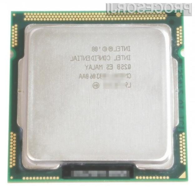 Intel Core i5 naj bi se navijal kot za stavo!