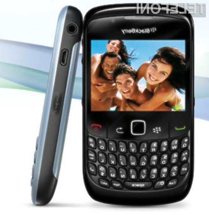 BlackBerry 8520 Curve se ne ustraši niti najzahtevnejših nalog!