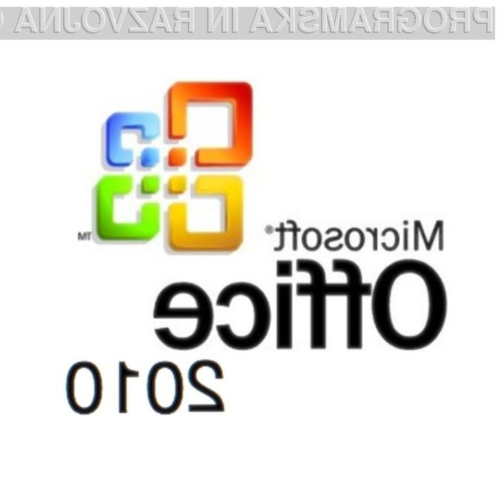 Bo Office 2010 mogoče kupiti in dolvleči kar preko svetovnega pleta?