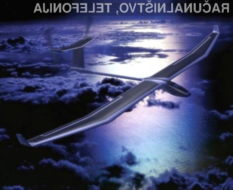 Prvo električno letalo s sončnimi celicami naj bi obkrožilo svet že leta 2012.