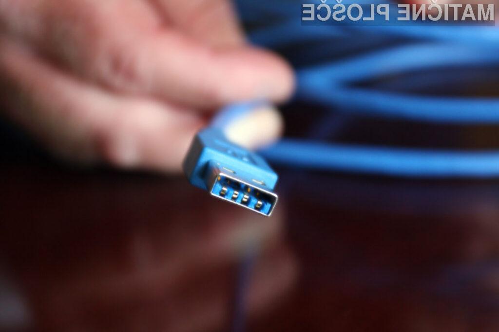 USB 3.0 bo podpiral podatkovne hitrosti do 5,0 Gb/s - kar je desetkrat hitreje od predhodnika USB 2.0.