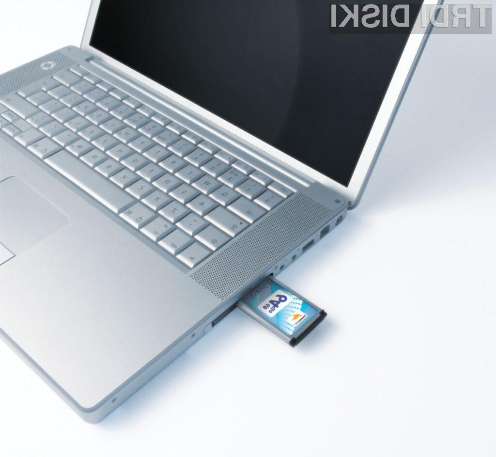 Verbatim zdaj z SSD ExpressCard za PC in MAC