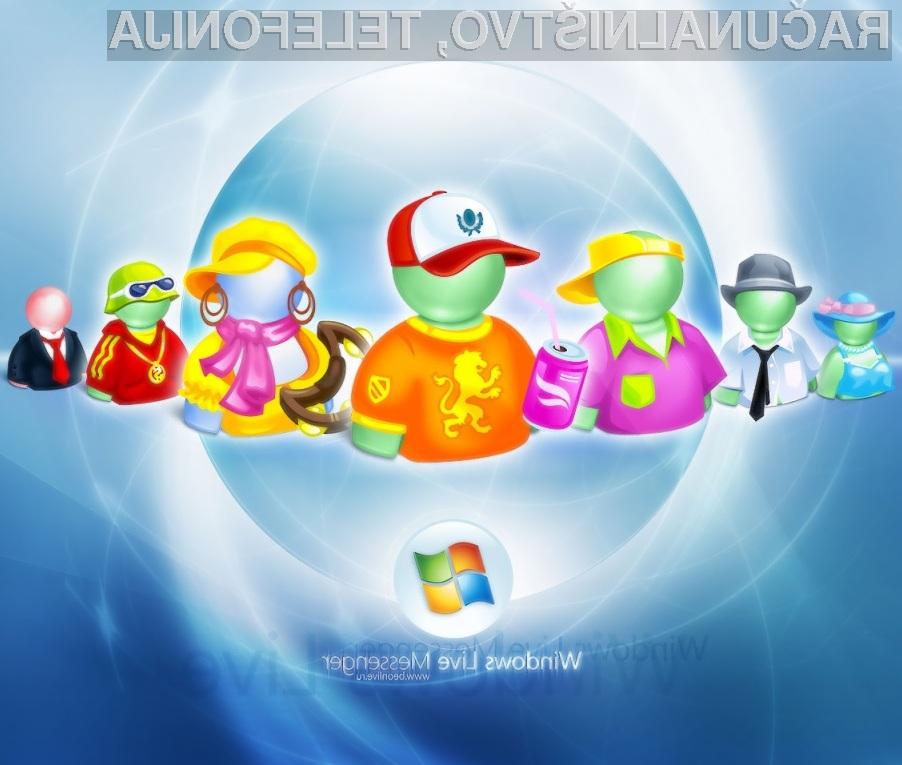 Windows Live Messenger uporablja že 330 milijonov računalničarjev!