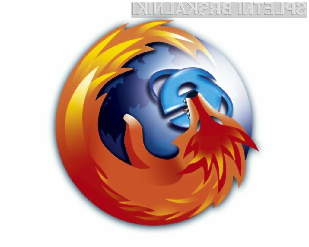 Internet Explorer in Firefox že skoraj izenačena!