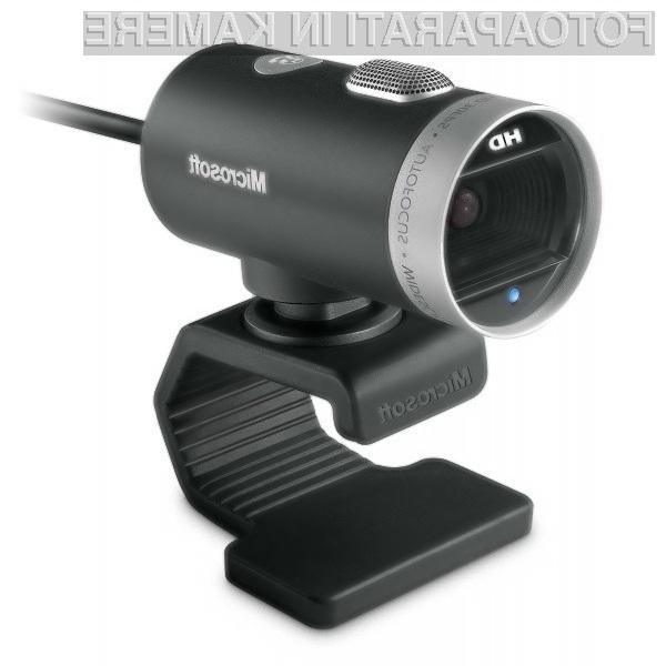 Spletna kamera LifeCam Cinema bo poskrbela za občutno kakovostnejše videokonference!