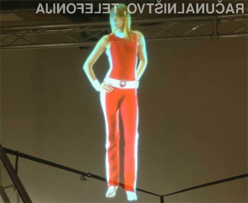 Novi hologrami že burijo domišljijo ljubiteljev znanstveno-fantastičnih filmov in računalniških iger.