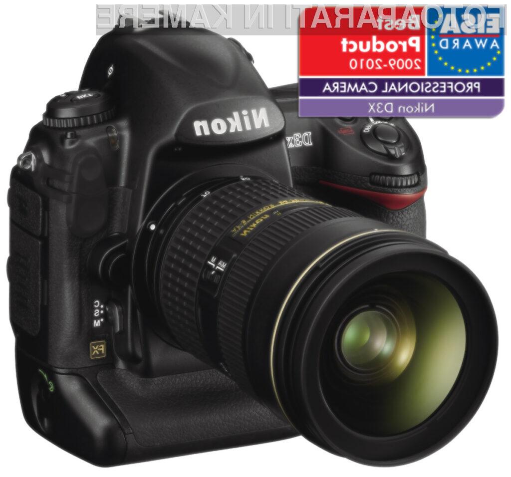 Nikon je požel še eno nagrado.