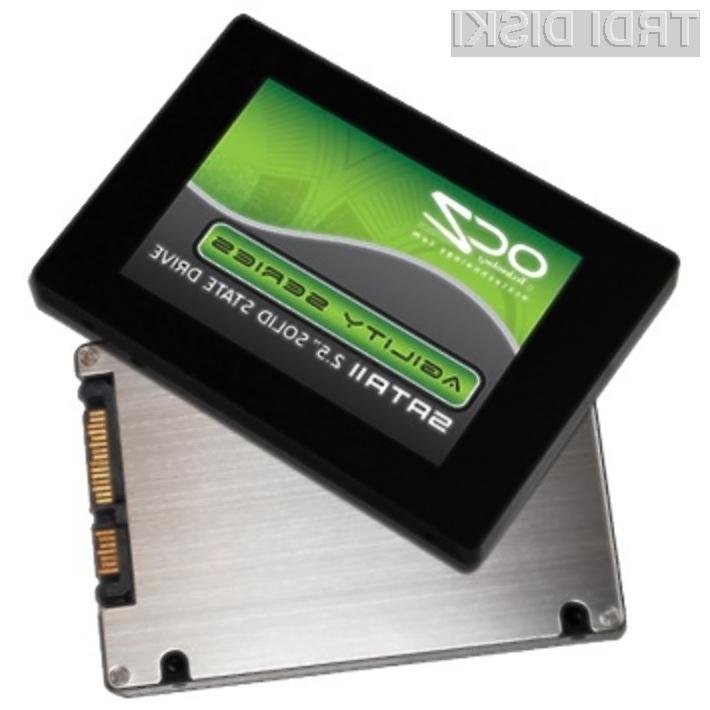 Pogon OCZ Agility EX ponuja najboljše razmerje med ceno in zmogljivostjo!