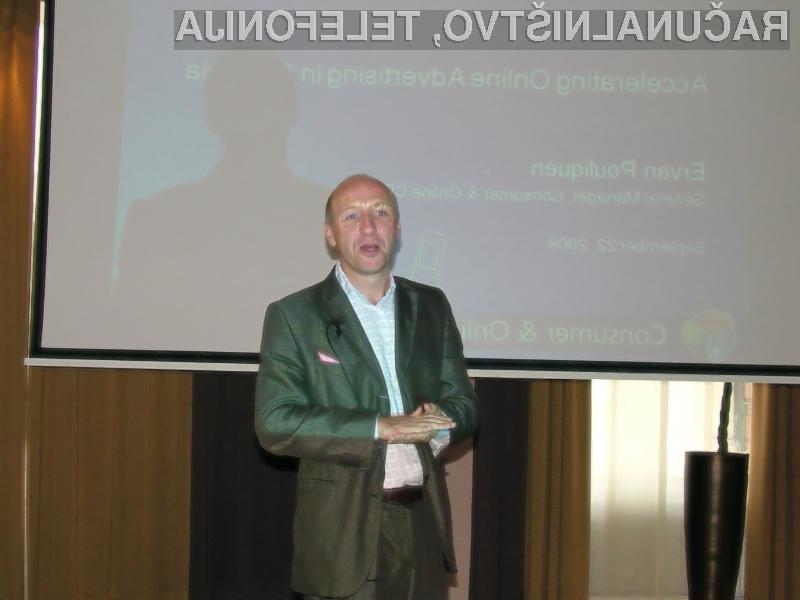 Ervan Pouliquen, Generalni direktor Microsofta Consumer & Online CEE