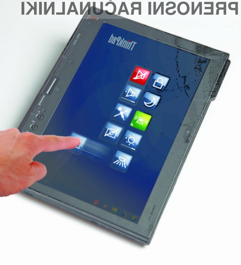 Preprostost dotika na novih prenosnikih Lenovo ThinkPad