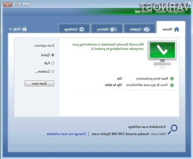 Poskusni brezplačni protivirusnik Microsoft Security Essentials je med računalničarji sila priljubljen!