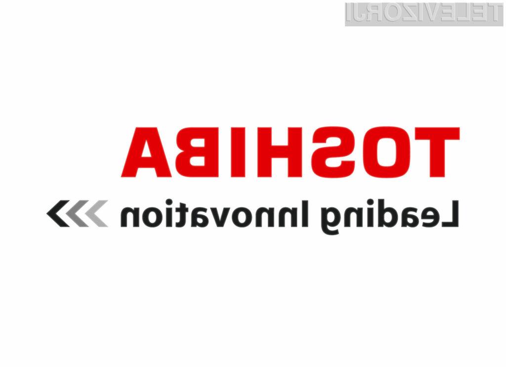 Toshiba je eden vodilnih proizvajalcev zabavne elektronike.