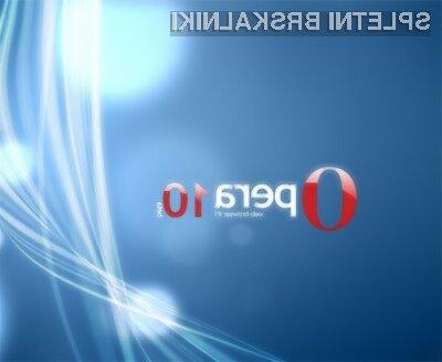 Opera 10 je povsem konkurenčna vodilnim spletnim brskalnikom.
