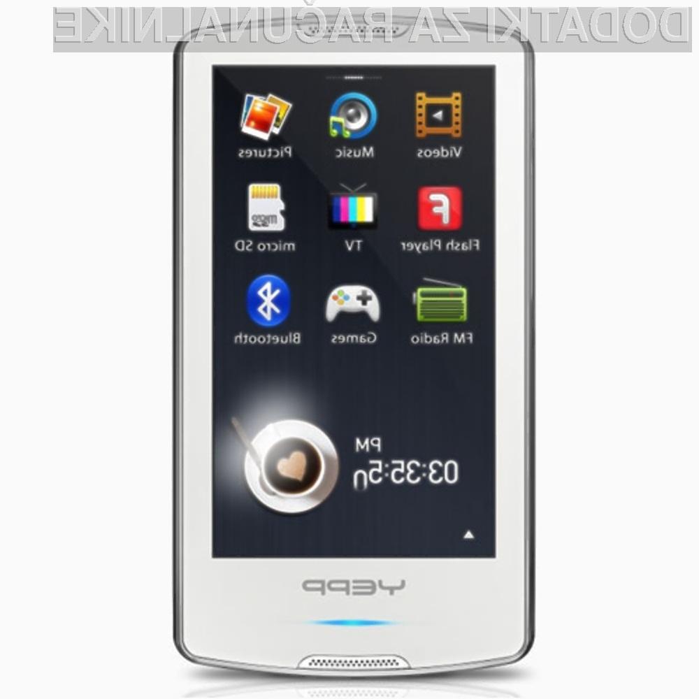 Samsung Tegra Yepp M1 se lahko povsem kosa z novim Microsoftovim večpredstavnostnim predvajalnikom Zune HD.