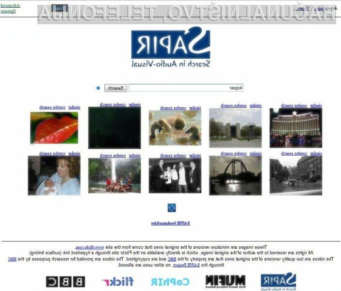 Spletni iskalnik SAPIR je pisan na kožo popotnikom!