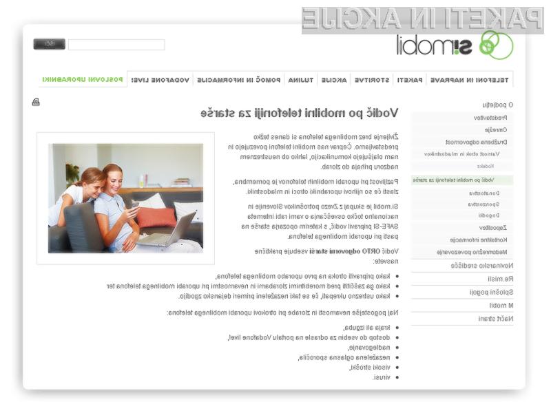 Si.mobil predstavil vodič po mobilni telefoniji za starše