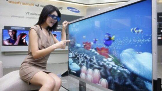 Novi 3D televizor LCD podjetja Samsung navdušuje!