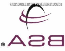 BSA poročilo o piratstvu prek interneta