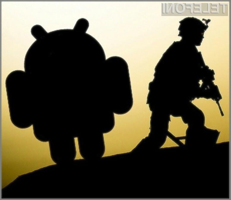 Platforma Android naj bi se odlično obnesla tudi na bojišču.