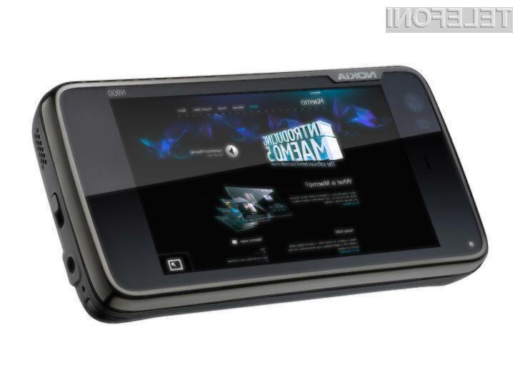 Poslovni mobilni telefon Nokia N900 naj bi k nam prispel šele v prvi polovici naslednjega leta.